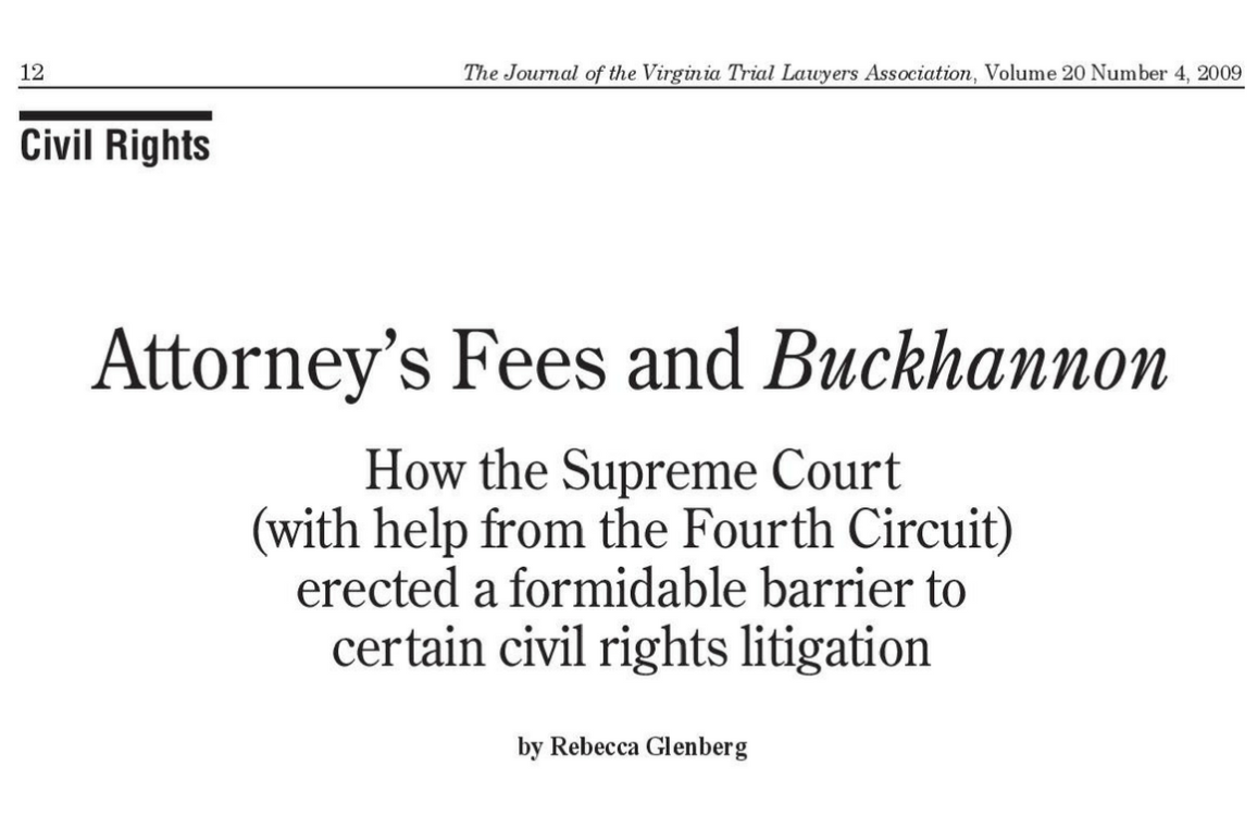 Attorney Fees and Buckhannon (1160x775)