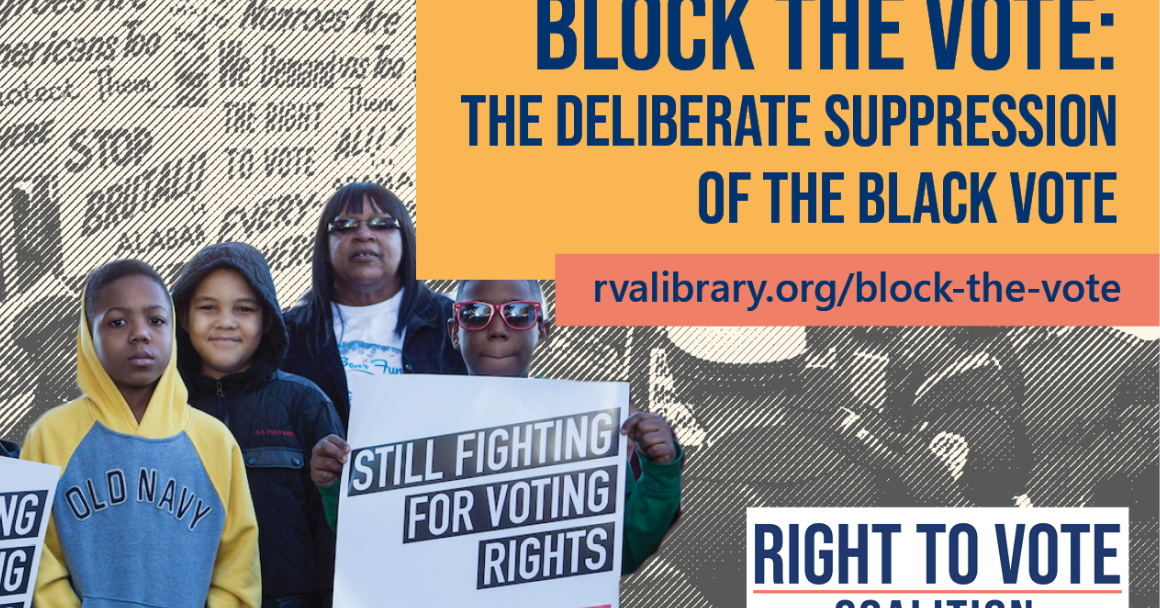 banner image for block the vote exhibition